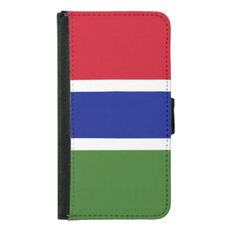 Gambia Flag Samsung Galaxy S5 Wallet Case