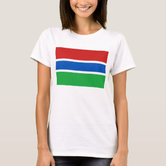 Gambia Flag x Map T-Shirt