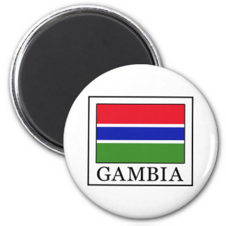 Gambia Magnet