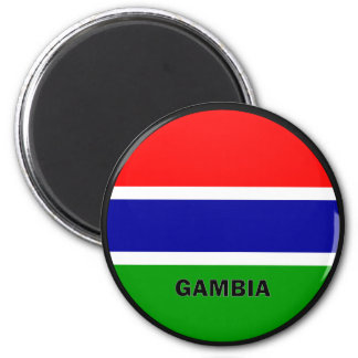 Gambia Roundel quality Flag Magnet