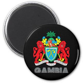 Gambian Emblem Magnet