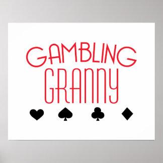 Gambling Granny Poster