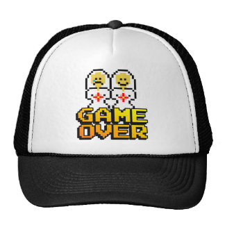 Game Over Marriage (Lesbian, 8-bit) Hat