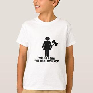 Gamer Girl T shirt