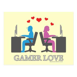 Gamer Love Postcard