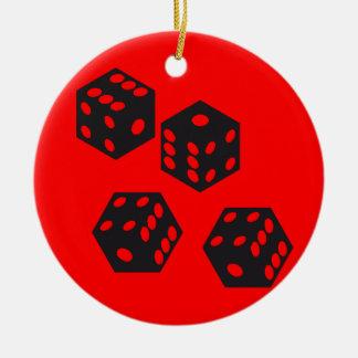 Gamer token christmas ornament