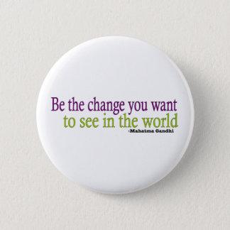 Gandhi Quote 6 Cm Round Badge