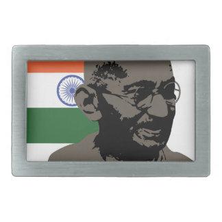 Gandhi Rectangular Belt Buckles