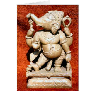 Ganesh Carving Cards