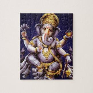 Ganesh Ganesha Hindu India Asian Elephant Deity Jigsaw Puzzle