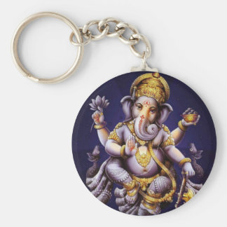 Ganesh Ganesha Hindu India Asian Elephant Deity Key Ring