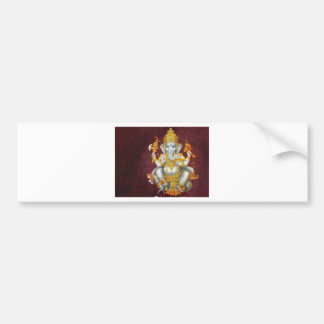 GANESH GLORY BUMPER STICKER