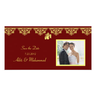 Ganesh Wedding Save the Date Photo Cards