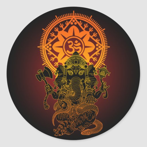 Ganesha 02 stickers