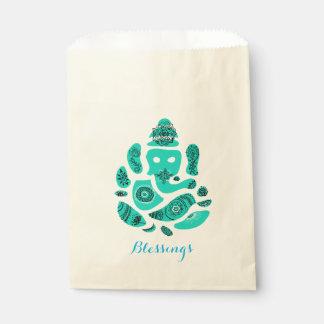 Ganesha Mandala Blessings gift Favour Paper Bag