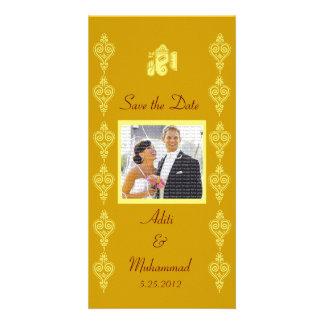 Ganesha Wedding Save the Date Photo Cards
