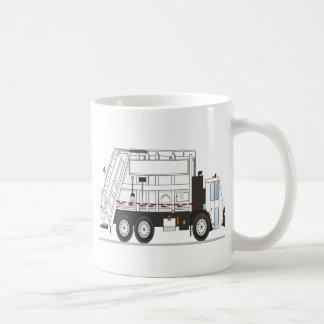 Garbage Truck Basic White Mug