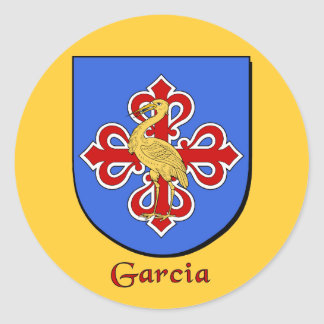 Garcia Family Shield Stickers