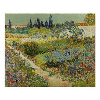 Garden at Arles by Vincent Van Gogh Photo Print