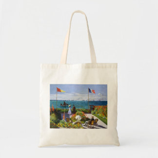 Garden at Sainte-Adresse, 1867 Claude Monet Tote Bag