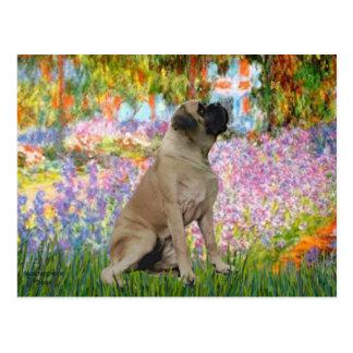 Garden - Bull Mastiff #1 Postcard
