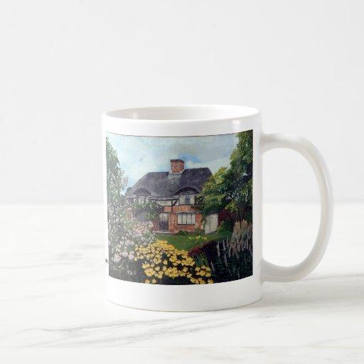 Garden Cottage Coffee Mugs