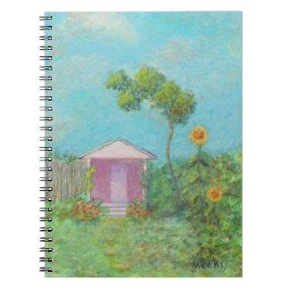 GARDEN COTTAGE Notebook