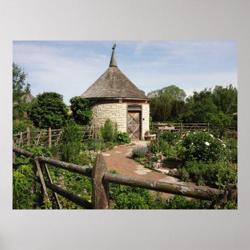 Garden Cottage Photo Print