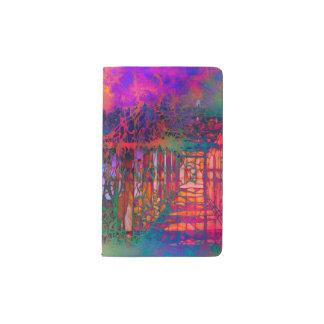Garden Dream Fantasy Custom Pocket Notebook