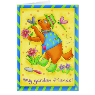 Garden Friends Card