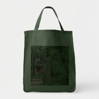 Garden Gate Tote Bags