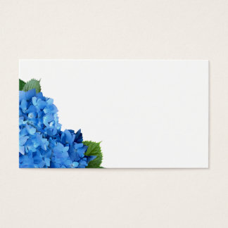 Garden Hydrangea Wedding Blank Place Cards