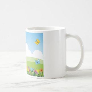Garden Illustration Coffee Mug