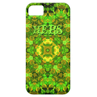 """Garden Inlay"" cell-phone skin (""Hers"") Case For The iPhone 5"