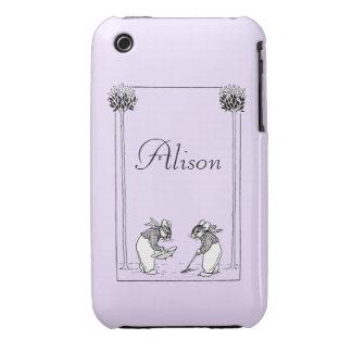 Garden Mice iPhone 3 Cases