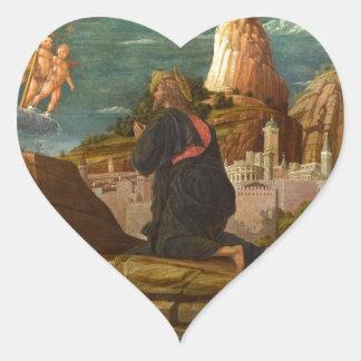 Garden Of Gethsemane Heart Sticker