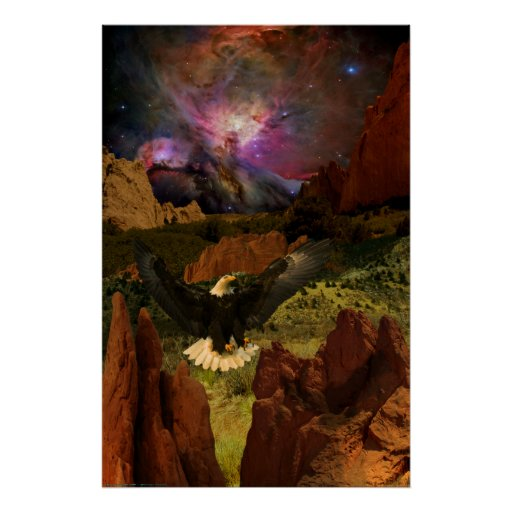Garden-of-the-Gods-W-Eagle-2010 Posters