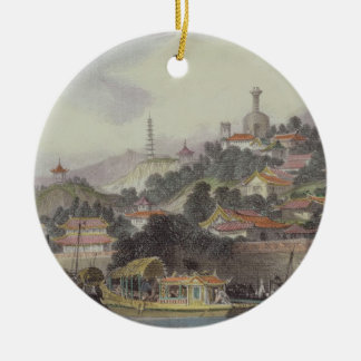 Garden of the Imperial Palace, Peking, from 'China Christmas Ornament