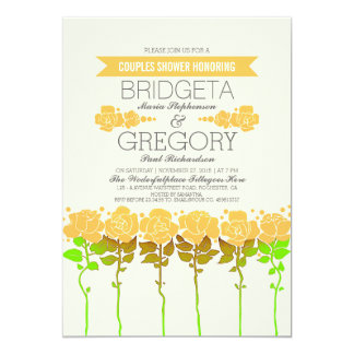 Garden Outdoor Couples Shower Invitation