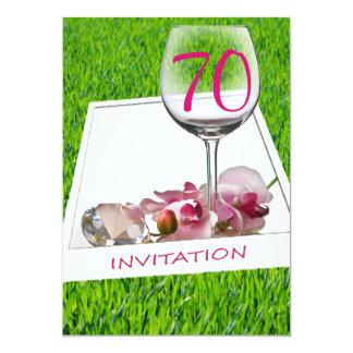 Garden Party Birthday Celebration Invitation
