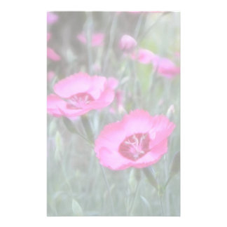 Garden Scenes - Cottage Pinks Customized Stationery
