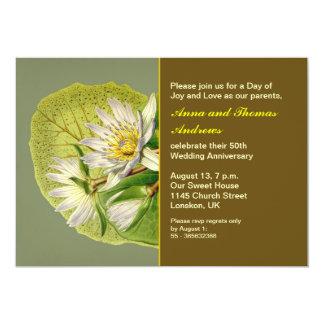 garden wedding anniversary card