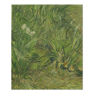Garden with Butterflies by Vincent Van Gogh Photo Print