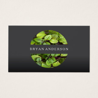 Gardener Landscaping Business Card
