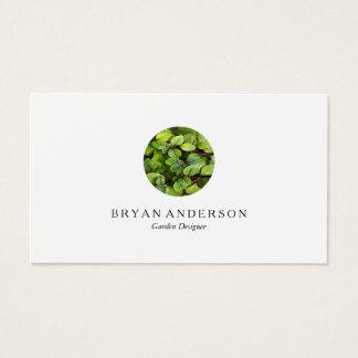 Gardener Landscaping Logo Business Card