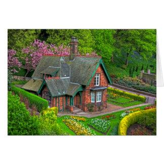 Gardener's Cottage Greeting Card