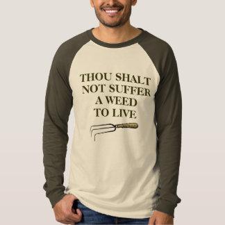 Gardener's T-shirt, unisex, brown, long-sleeved Shirt