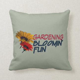 Gardening Bloomin' Fun Pillow