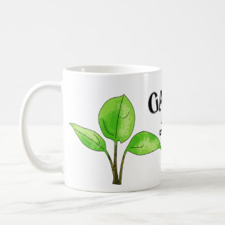 Gardening Is An Exercise in Optimism Basic White Mug