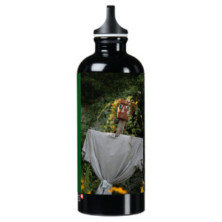 Gardening is Cheaper Than Therapy Water Bottle